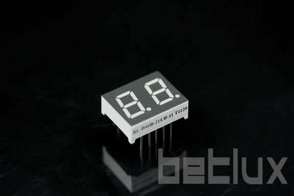 0.40 inch double seven segment led display