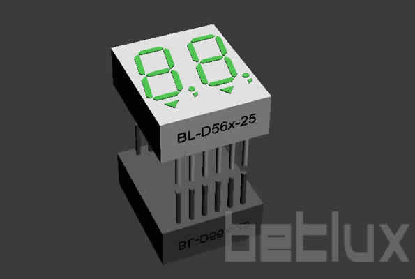 numeric LED display | 0.56 inch