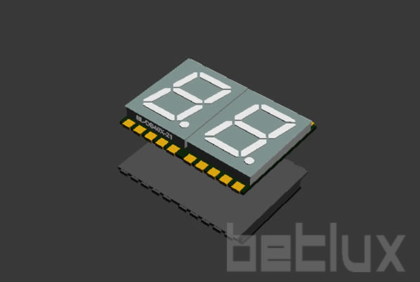 smd 7 segment LED display  | 0.4