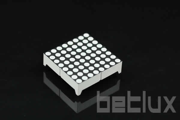 1.2 inch height 8x8 LED dot matrix