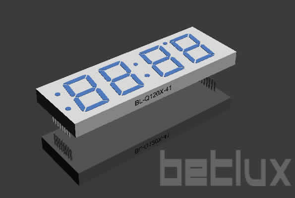 product image - LED display | Four digit | 1.2 inch  LED-1.2 inch four seven segment led display