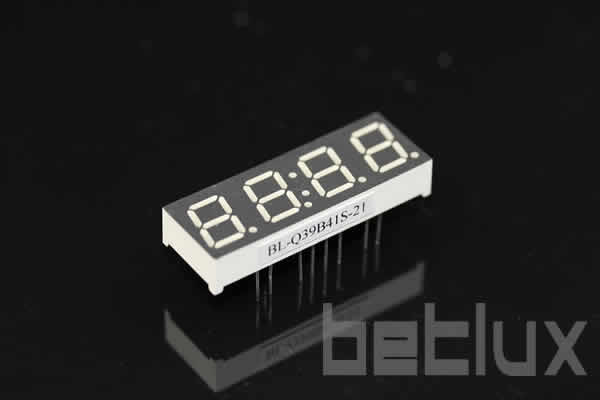 product image - 4 digit 7 segment led displays | 0.39 inch | led display datasheet-0.39 inch four seven segment led display