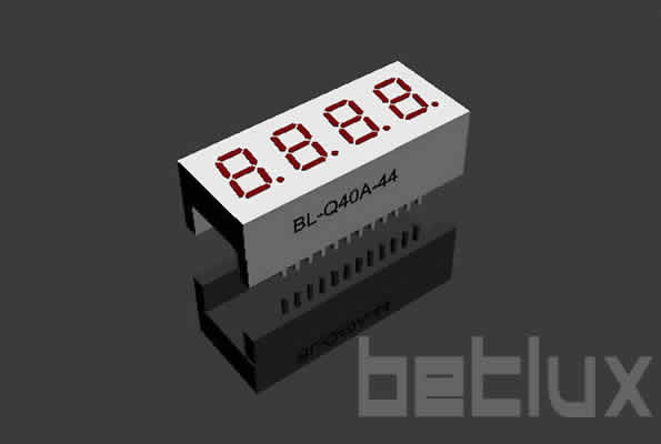 0.40 inch four seven segment led display