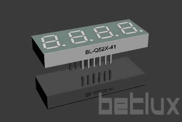 0.52 inch four seven segment led display