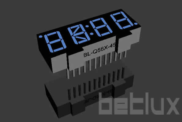 0.56 inch four seven segment led display