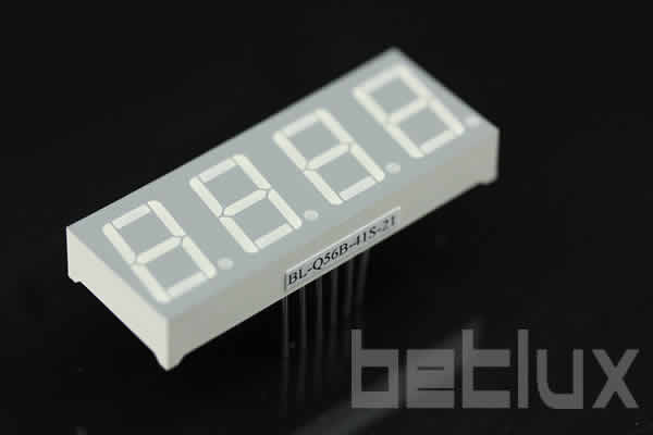 1.2 inch four seven segment led display