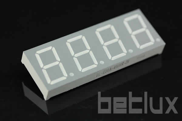 0.80 inch four seven segment led display