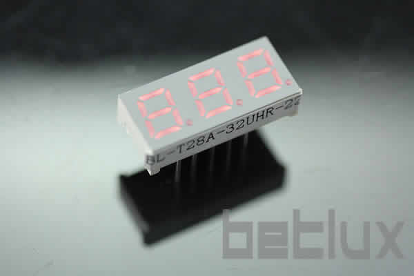 product image - display component | timer display | 0.28 inch-LED display 0.28 inch