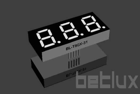 LED display 0.8 inch
